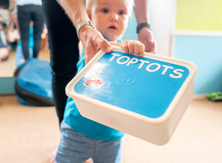 Activity Boxes Toptots Mother and Child Workshop