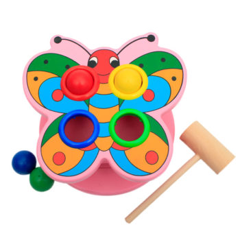 animal ball game butterfly