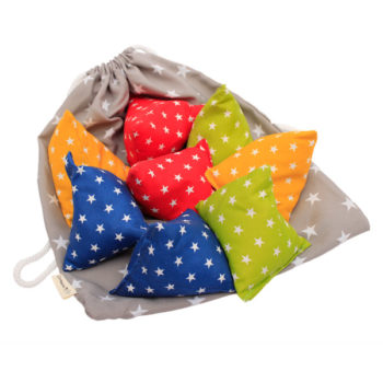 bean bag pyramid shape - star