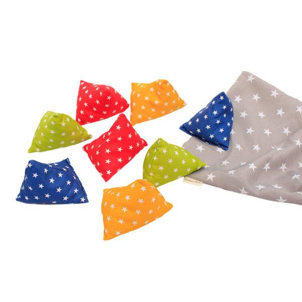 bean bag pyramid shapes -star