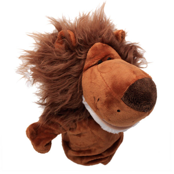 handpuppet dark lion