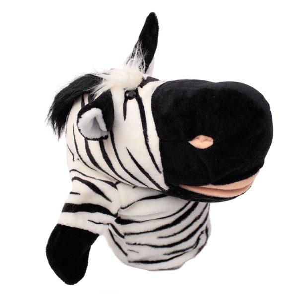 handpuppet zebra
