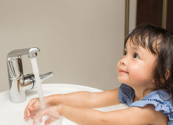 how to keep your child healthy through hygiene