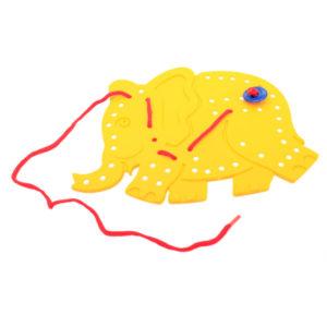 plastic threading toy