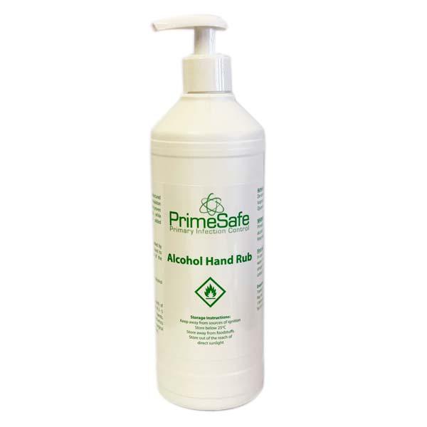 prime safe alcohol hand rub