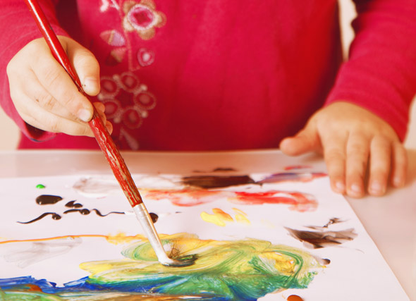 process art and early childhood development