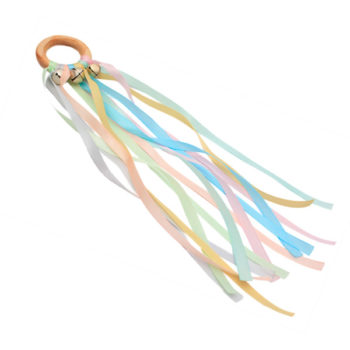 Rainbow kite with bells