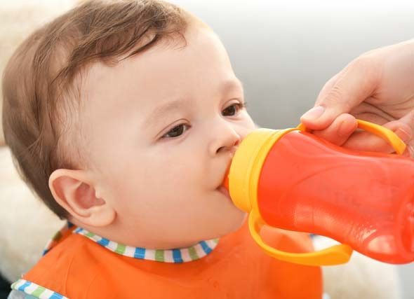 sippy cups and speech development