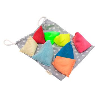 Textured bean bags