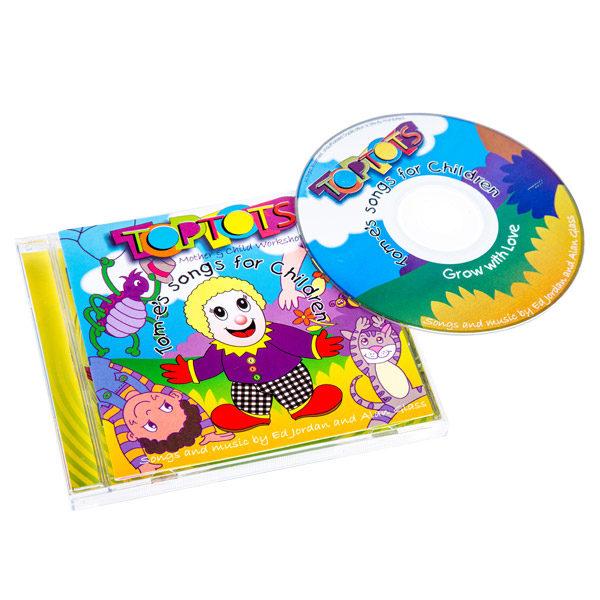 Tom-e songs for children cd