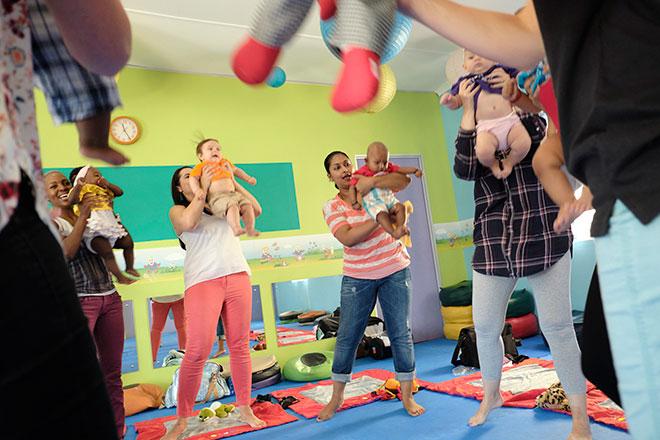 Toptots baby and mum classes