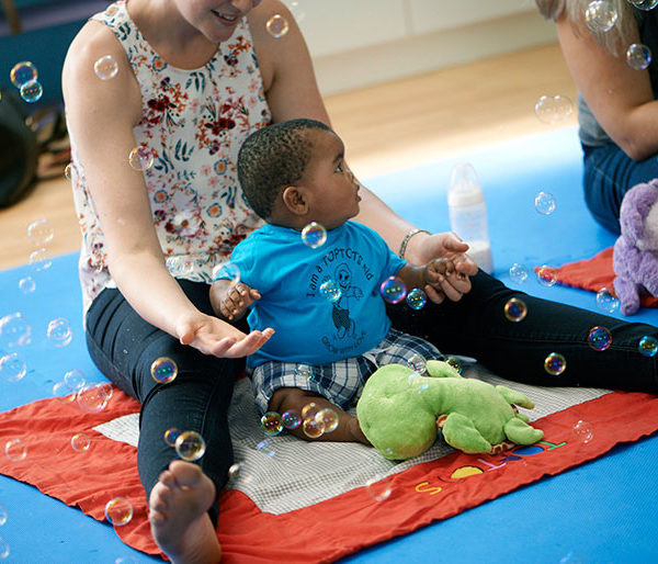 Toptots baby and parent workshop