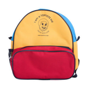 Toptots backpack front