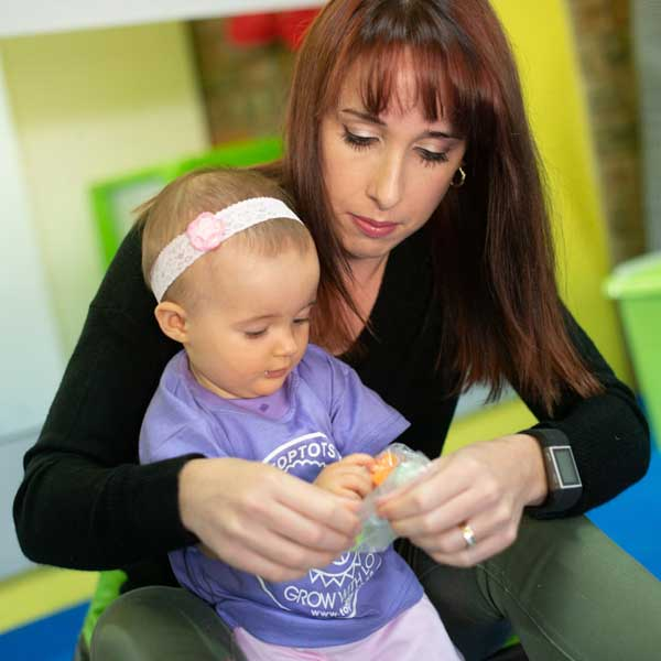 Toptots Bluff parent and toddler workshop