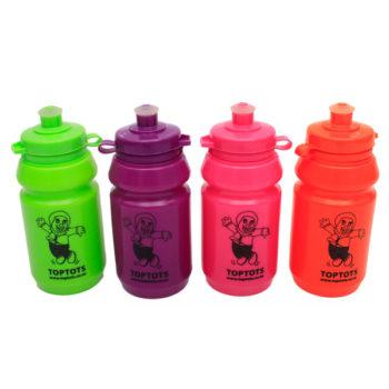 Toptots juice bottles