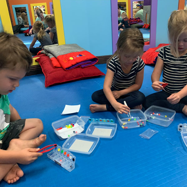 toptots middelburg parent and child classes
