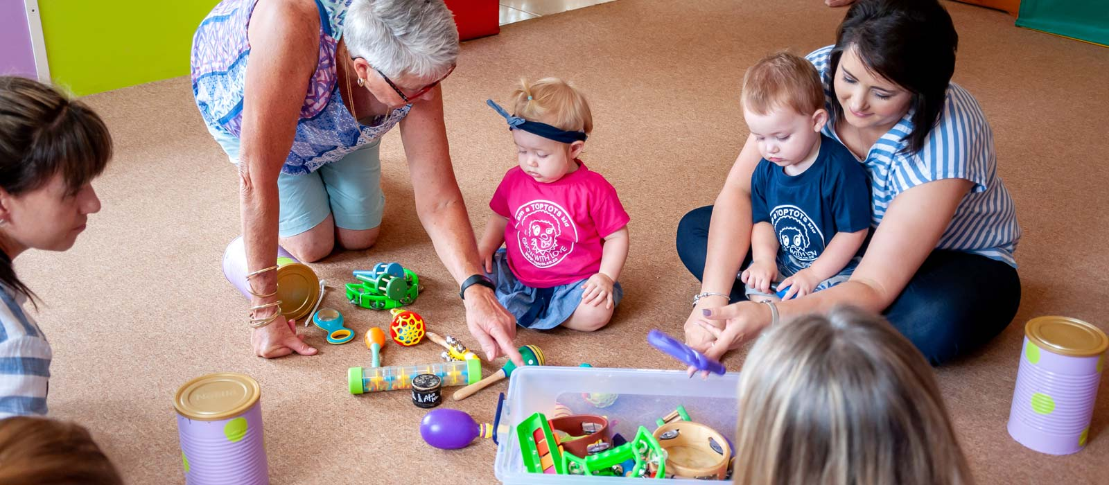 Toptots Mom and Tot Workshop