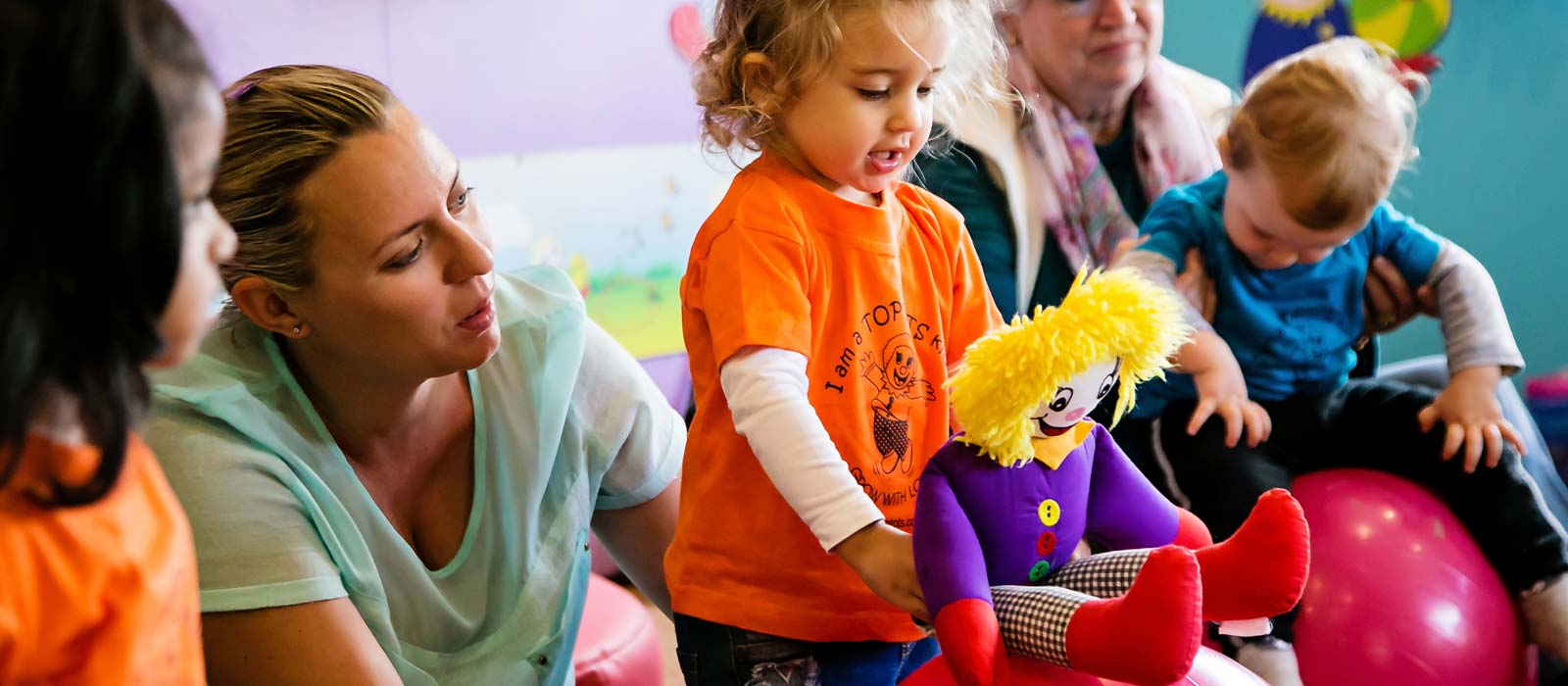 Toptots Moms and Babies Classes