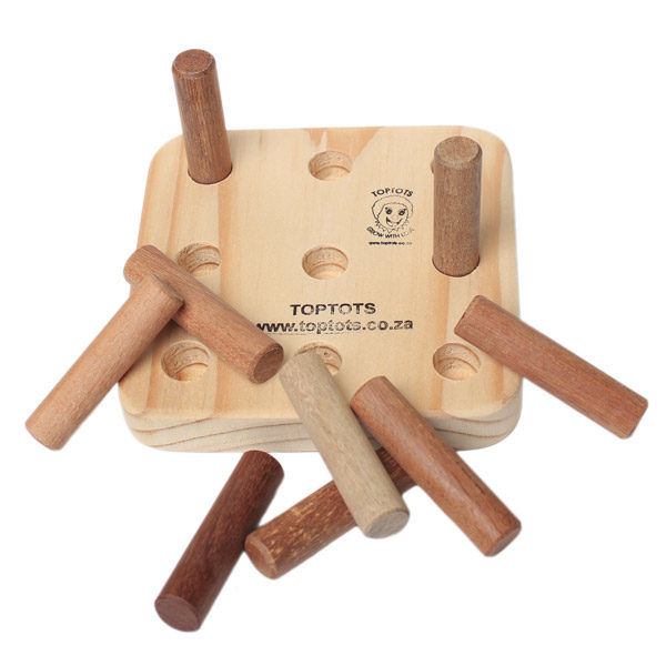 wooden peg boards same size pegs